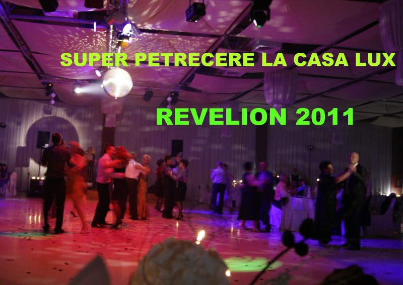 Petrecere incendiara de Revelion la Pensiunea Casa Lux !