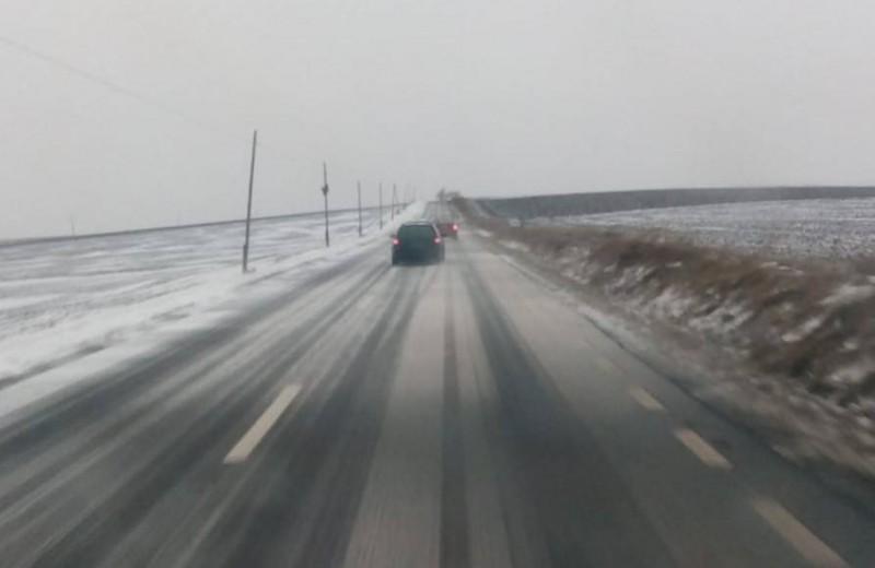 Pleci la drum? Vezi cum se circulă pe drumurile naționale din Moldova!