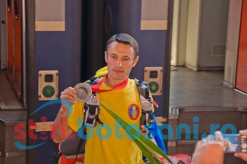 Plt. maj. Iulian Rotariu a plecat să cucerească Deșertul Atacama