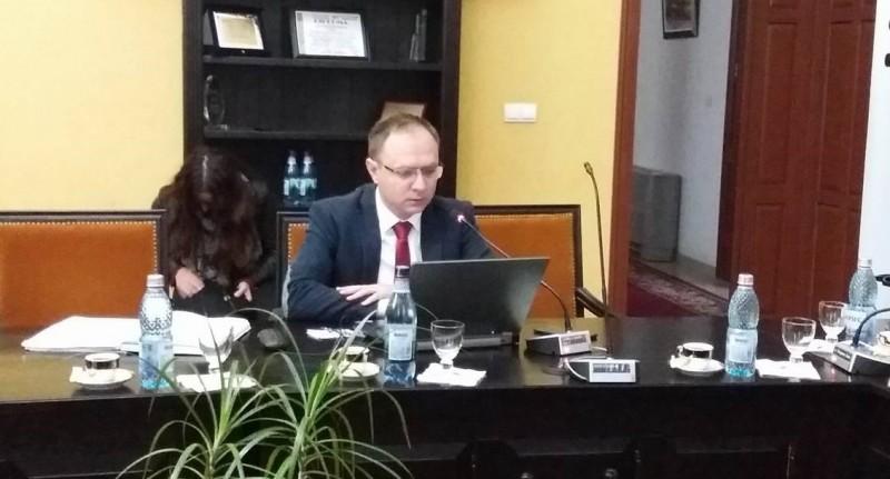 """Viceprimarul Cosmin Andrei: """"Din păcate, astăzi este o zi foarte tristă pentru municipiul Botoșani"""""""