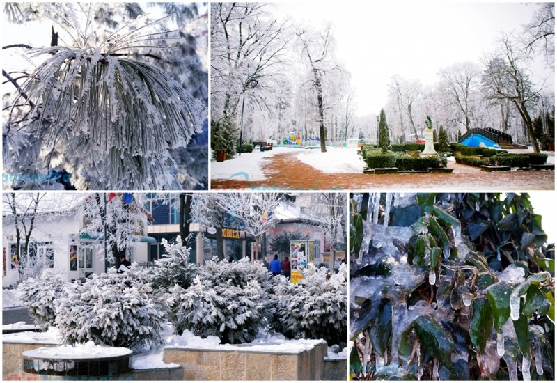 Poemele iernii, un spectacol al naturii! GALERIE FOTO