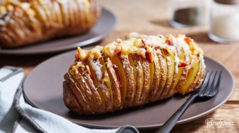 POFTĂ BUNĂ: Cum prepari delicioșii cartofi acordeon