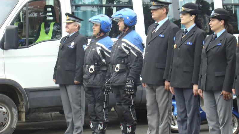 Politia Comunitara Botosani, vizitata de reprezentantul guvernului elvetian