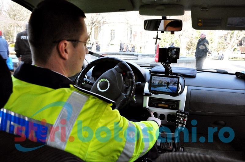 Sute de polițiști botoșăneni în teren, de Paști! Radarele vor acționa pe 12 tronsoane de drumuri județene și naționale!
