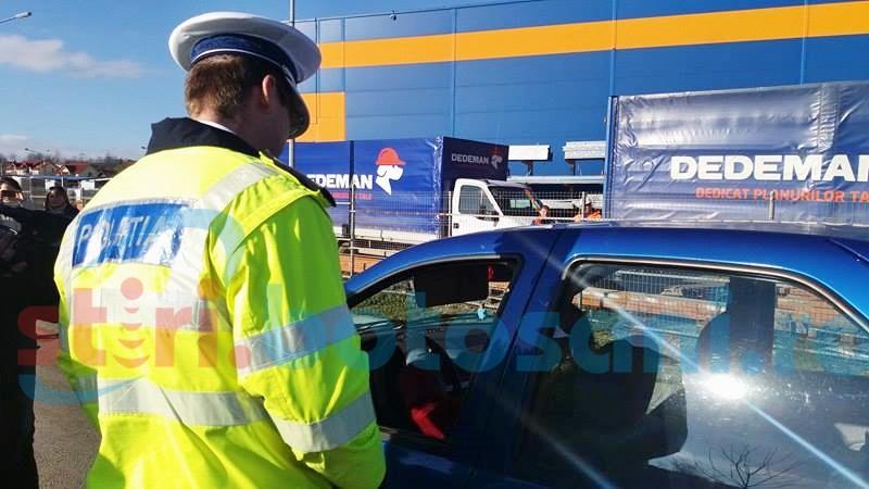 Echipaje sporite de poliţişti pe şoselele din judeţ şi pe străzi!