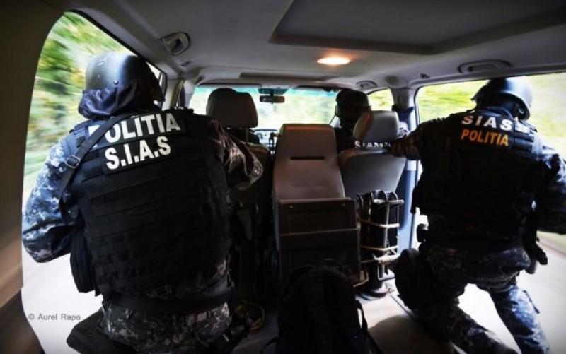 Poliţist rănit de un traficant de droguri în timpul unui flagrant