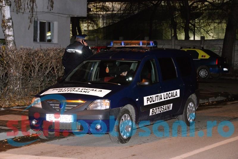 Polițiști locali puși pe drumuri de o botoșăneancă băută