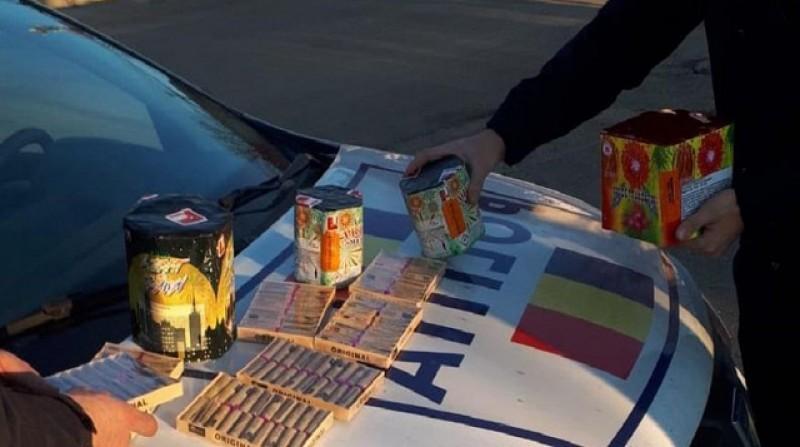 Polițiștii atrag atenția asupra materialelor pirotehnice: majoritatea incidentelor se petrec în perioada Sărbătorilor de Iarnă