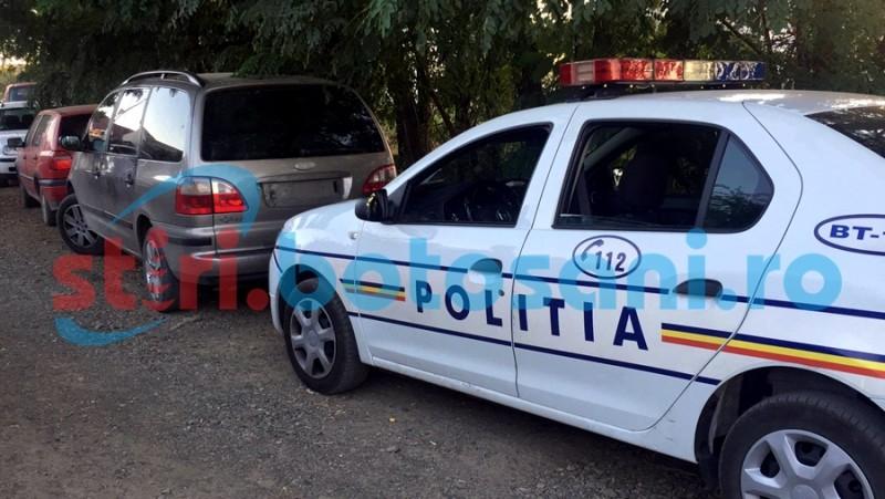 Politistii au gasit masina hotilor din Donici! Vezi unde era abandonata! FOTO