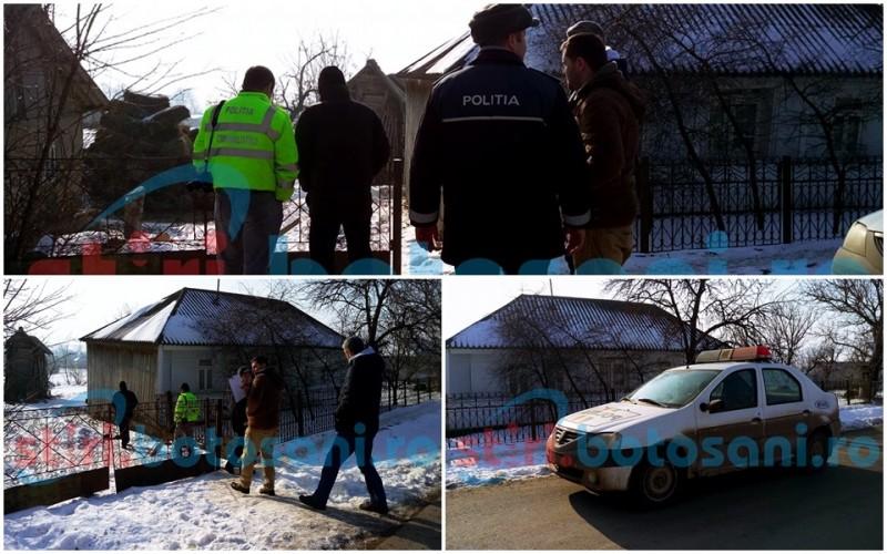 Polițiștii botoșăneni, în alertă: Doi bătrâni și fiul lor, jefuiți și bătuți cu cruzime, tâlharii au dispărut cu butoiul cu bani! FOTO