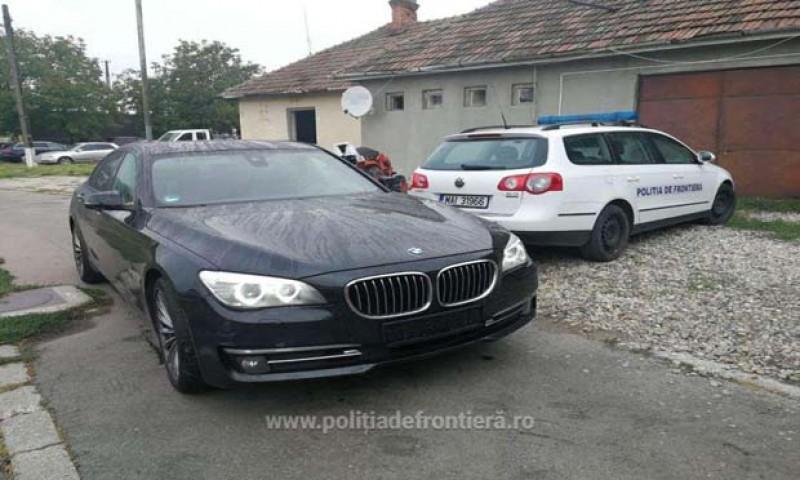 Polițiștii de frontieră au confiscat o mașină furată în Germania, adusă în România de un botoșănean!