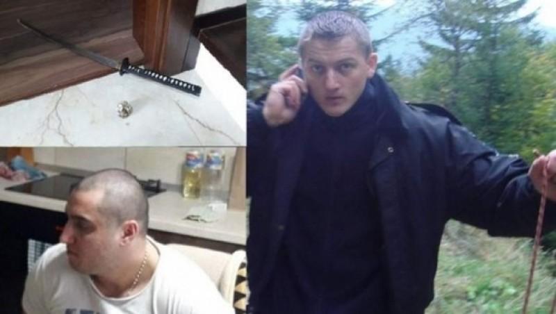 Politistul internat la Iasi dupa ce a fost lovit cu sabia in cap de un interlop, dus de urgenta la spital!
