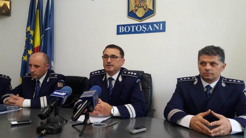 Conducerea IPJ Botoșani își dorește sporirea autorității polițiștilor. Ce se pregătește!