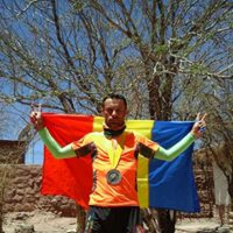 Pompier botoşănean, declarat maratonistul anului 2016