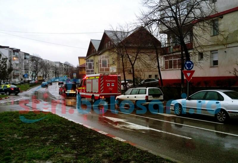 Pompieri chemati pentru a preveni un accident! FOTO, VIDEO