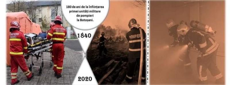 Pompierii botoşăneni - 180 ani în slujba comunităţii
