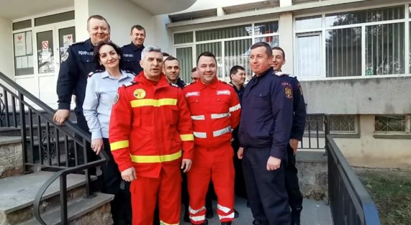 Pompierii botoșăneni îi provoacă pe jandarmii din Botoșani și pompierii din cadrul ISU Vrancea sa doneze sânge! VIDEO