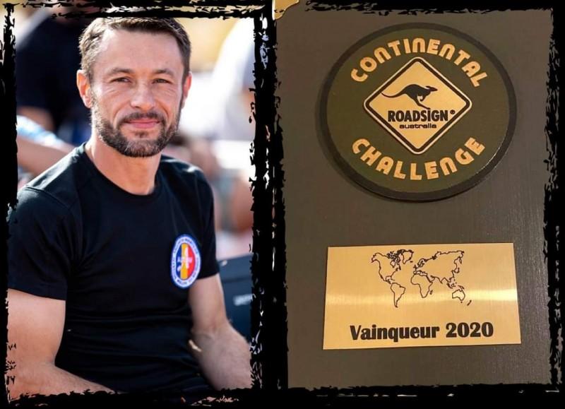 Pompierul Iulian Rotariu este câștigătorul Continental Challenge 2020