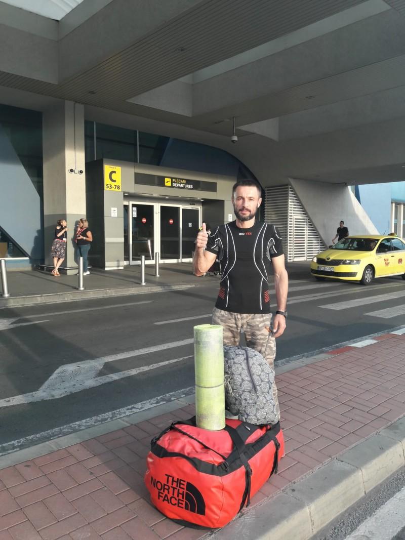 Pompierul Iulian Rotariu, la startul unei noi provocări