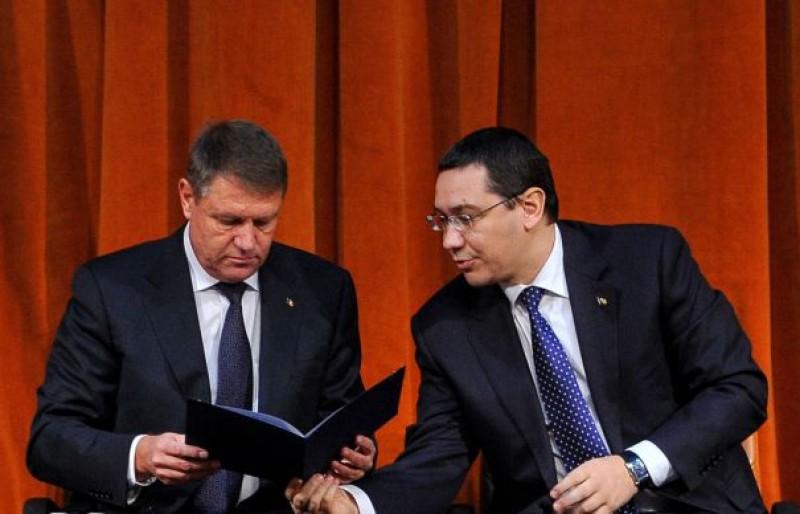 Ponta: M-a durut când a ieşit Iohannis cu lista baronilor, în 2014, şi eu trebuia să îi apăr, deşi eram de acord cu el