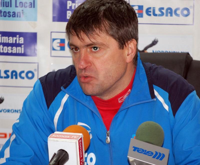 Popovici pregăteşte meciul cu FC Snagov
