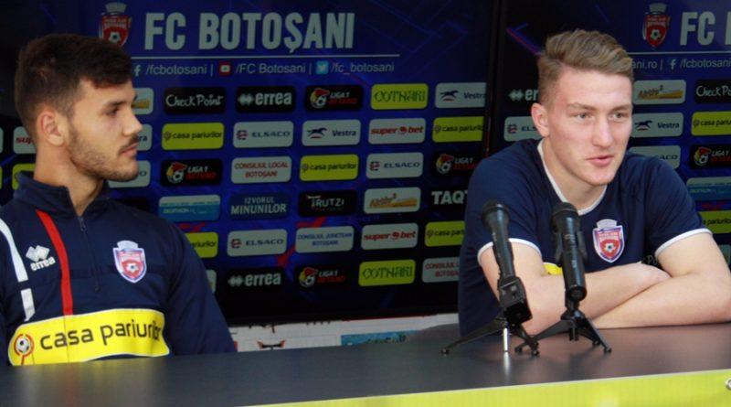"""Portarul FC Botoșani, înainte de meciul cu CFR Cluj: """"Sunt sigur că o să dăm totul pe teren!"""""""