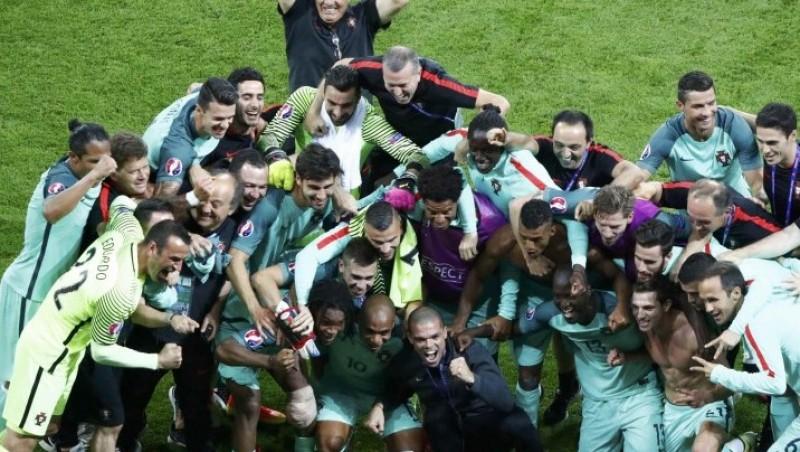Portugalia este prima finalistă de la EURO! Ronaldo și colegii lui au trecut de Țara Galilor, scor 2-0