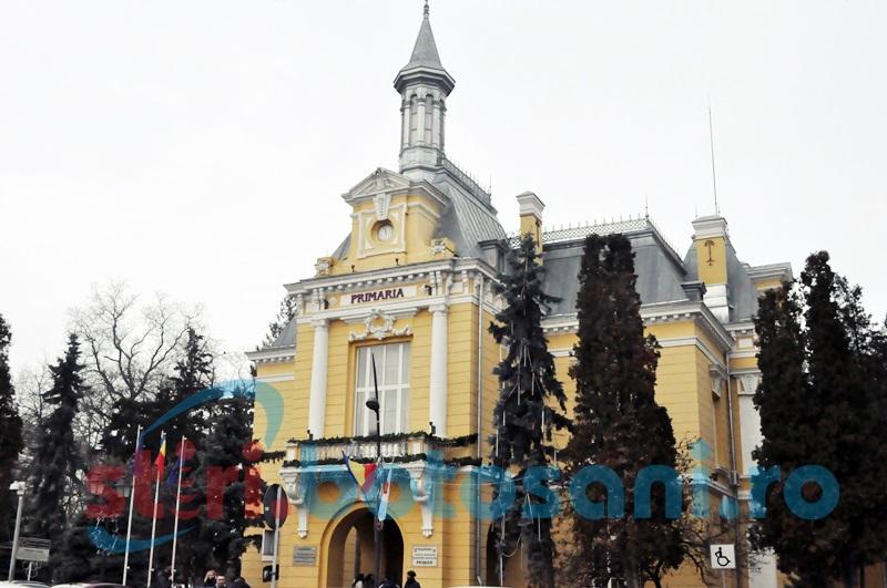 Post de director scos la concurs, la Primăria Botoșani