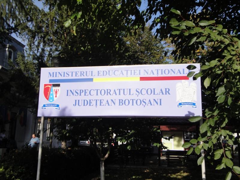 Postul de inspector general adjunct al IȘJ Botoșani, scos la concurs