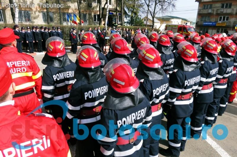 Postul de inspector şef al ISU Botoşani scos la concurs