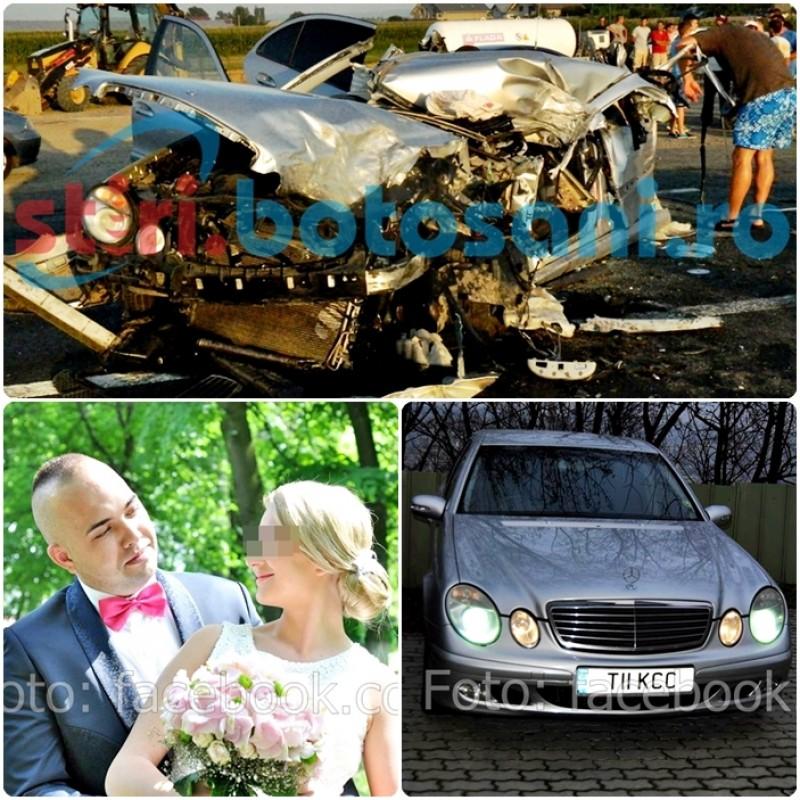 POVESTEA dorohoianului mort in accidentul de la Dumbraveni: Era casatorit de doua luni! Zeci de mesaje din partea cunoscutilor! FOTO