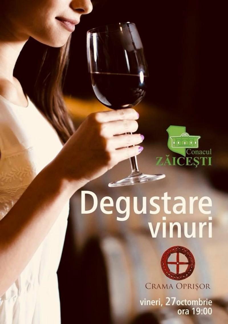 Povestea vinului la Conacul Zăiceşti - Degustare de vinuri Crama Oprişor