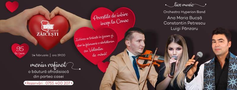 Poveştile de iubire încep la Conac!