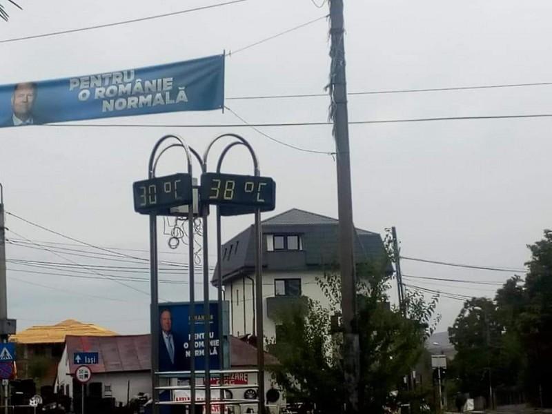 Poza zilei: nici vremea nu mai e ce a fost la Botoșani