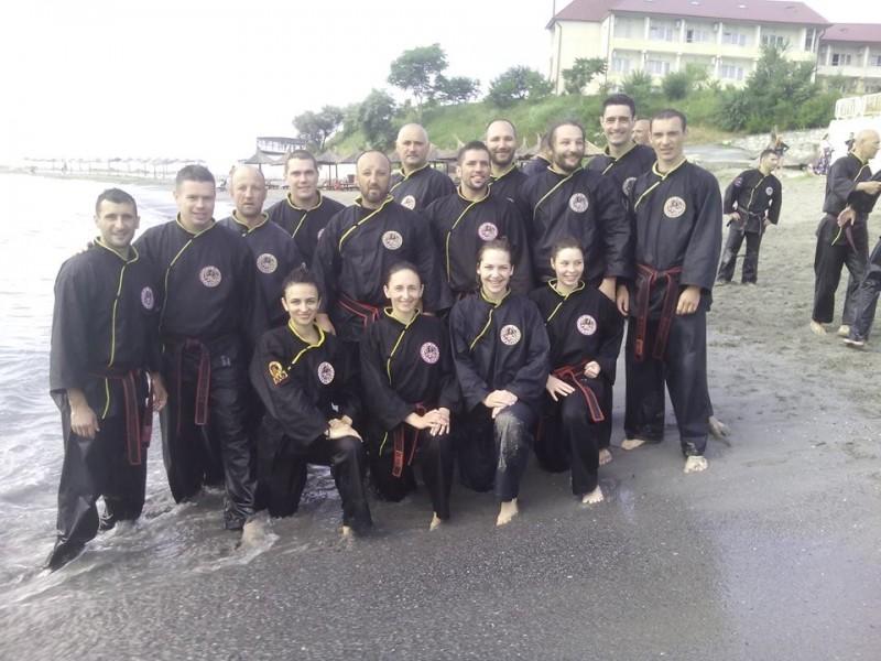 Practicantii Qwan Ki Do din Botosani au participat la un stagiu national de pregatire, la malul Marii Negre! FOTO