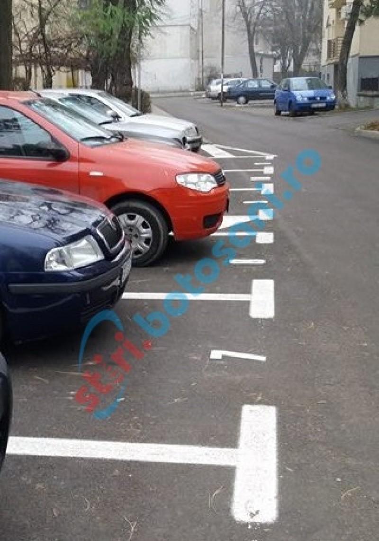 Controale la parcările concesionate pentru depistarea celor care le ocupă ilegal!