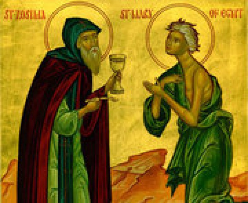 Predica la Duminica Sfintei Maria Egipteanca - Doua convorbiri de taina