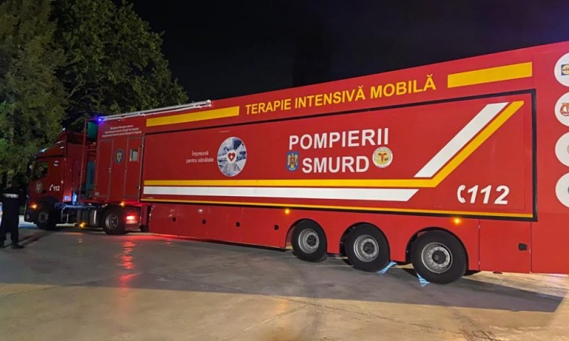 """Prefectul explică întârzierea unității mobile de terapie intensivă: """"E la Cluj, într-un proces de modernizare"""""""