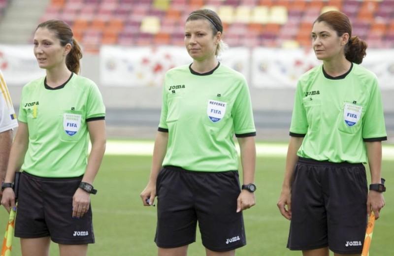 Premieră în fotbalul românesc la Supercupa României. FRF a delegat două femei arbitru