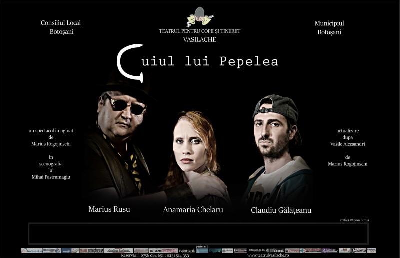 """Premieră la Teatrul """"Vasilache""""!"""