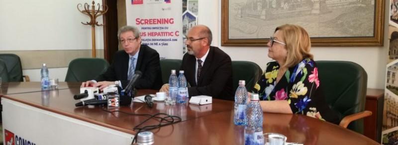 PREMIERĂ: Programul Naţional de Screening al hepatitei C pentru populaţia defavorizată se va desfășura concomitent în județele Botoșani, Iași și Suceava!