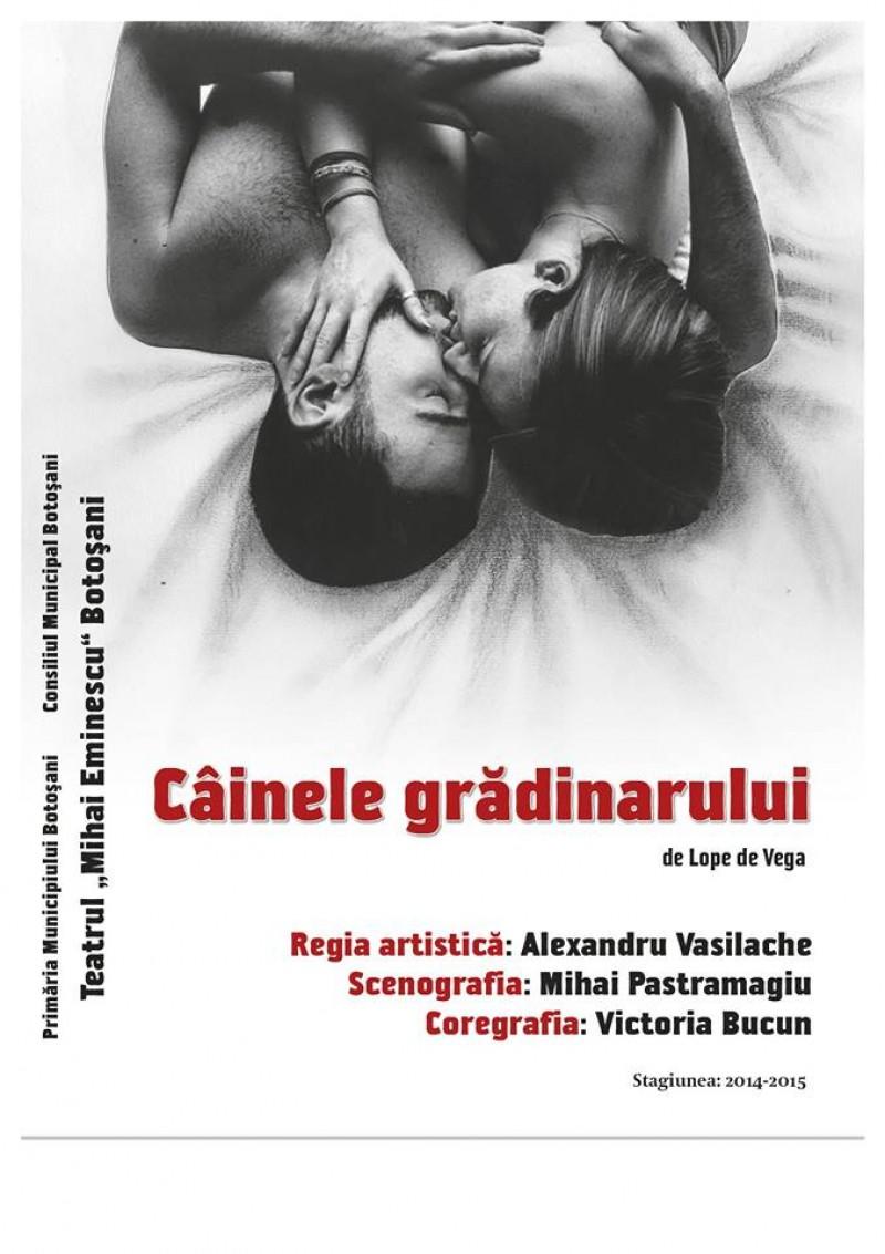 """PREMIERĂ: """"Câinele grădinarului"""", la Teatrul Mihai Eminescu!"""