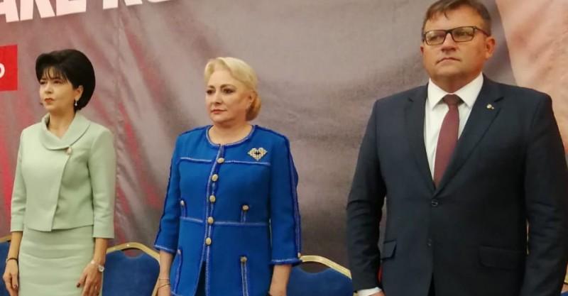 """Premierul demis, la Botoșani: """"Sunt mai puternică decât toți cei șapte [n.r.: candidați] la un loc"""" FOTO & VIDEO"""