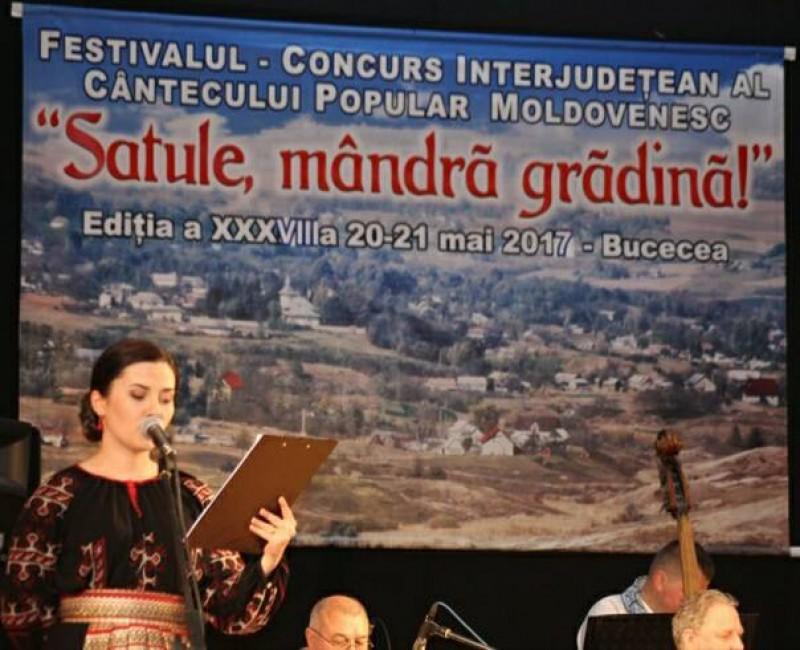 """Premiile Festivalului Interjudeţean al Cântecului Popular Moldovenesc """"Satule, mândră grădină"""", ediţia a XXXVIII-a!"""
