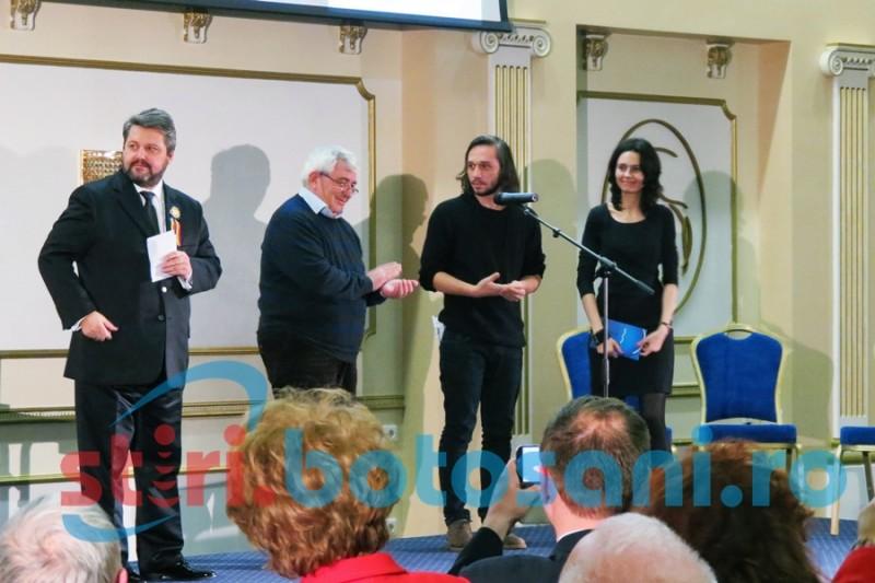 PREMIUL EMINESCU la Botoşani: Ionelia Cristea şi Robert G. Elekes, câştigătorii Opus Primum! FOTO