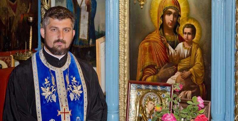 """Preotul de la Botoșani care a construit ferma """"Arca lui Noe"""", a devenit preotul Spitalului Sfântul Spiridon"""