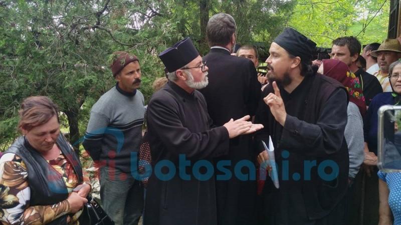 Preotul de la Schit Orăşeni ignoră încă o dată invitaţia la şedinţa Consistoriului Eparhial