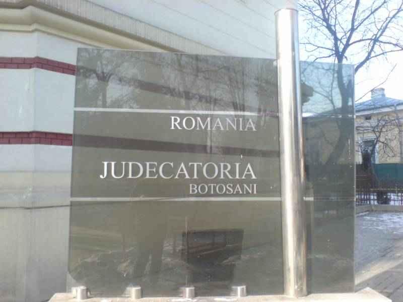 Președinte nou la Judecătoria Botoșani!