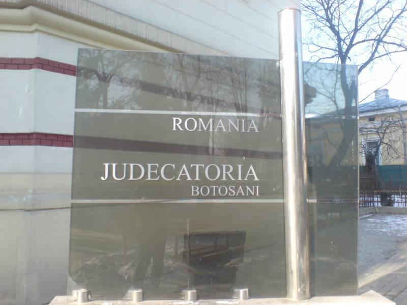 Preşedinte nou la Judecătoria Botoşani, după un concurs cu repetiţie