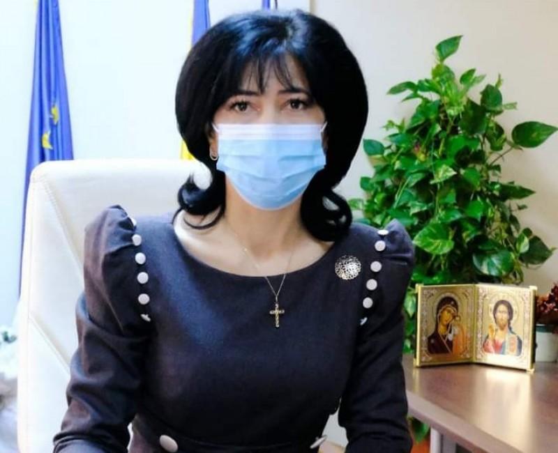 Preşedintele CJ Botoşani, Doina Federovici: Sfatul meu este ca cetăţenii să se vaccineze